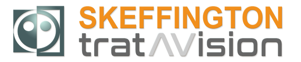Logo Skeffington Tratavision